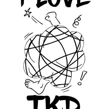 I LOVE TAEKWONDO by antdragonist
