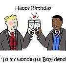 Happy Birthday to Gay Boyfriend. by KateTaylor