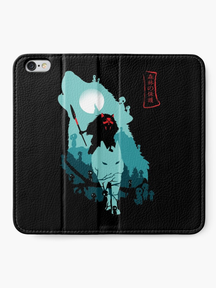 Alternate view of The Forest Protrectress iPhone Wallet