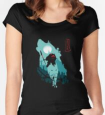 The Forest Protrectress Women's Fitted Scoop T-Shirt