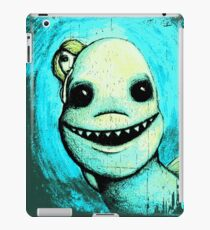 Meeting New People for Nessie and Mermaid (Color Version)  iPad Case/Skin