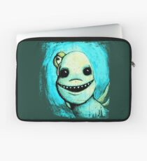 Meeting New People for Nessie and Mermaid (Color Version)  Laptop Sleeve