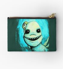 Meeting New People for Nessie and Mermaid (Color Version)  Studio Pouch