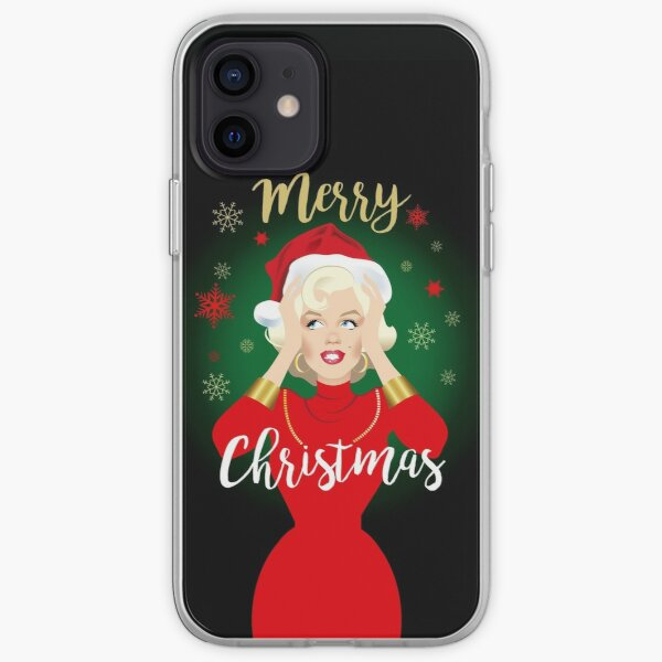 Blonde Christmas iPhone Soft Case