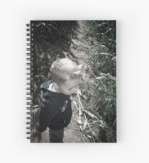 Lost In The Corn Maze Spiral Notebook