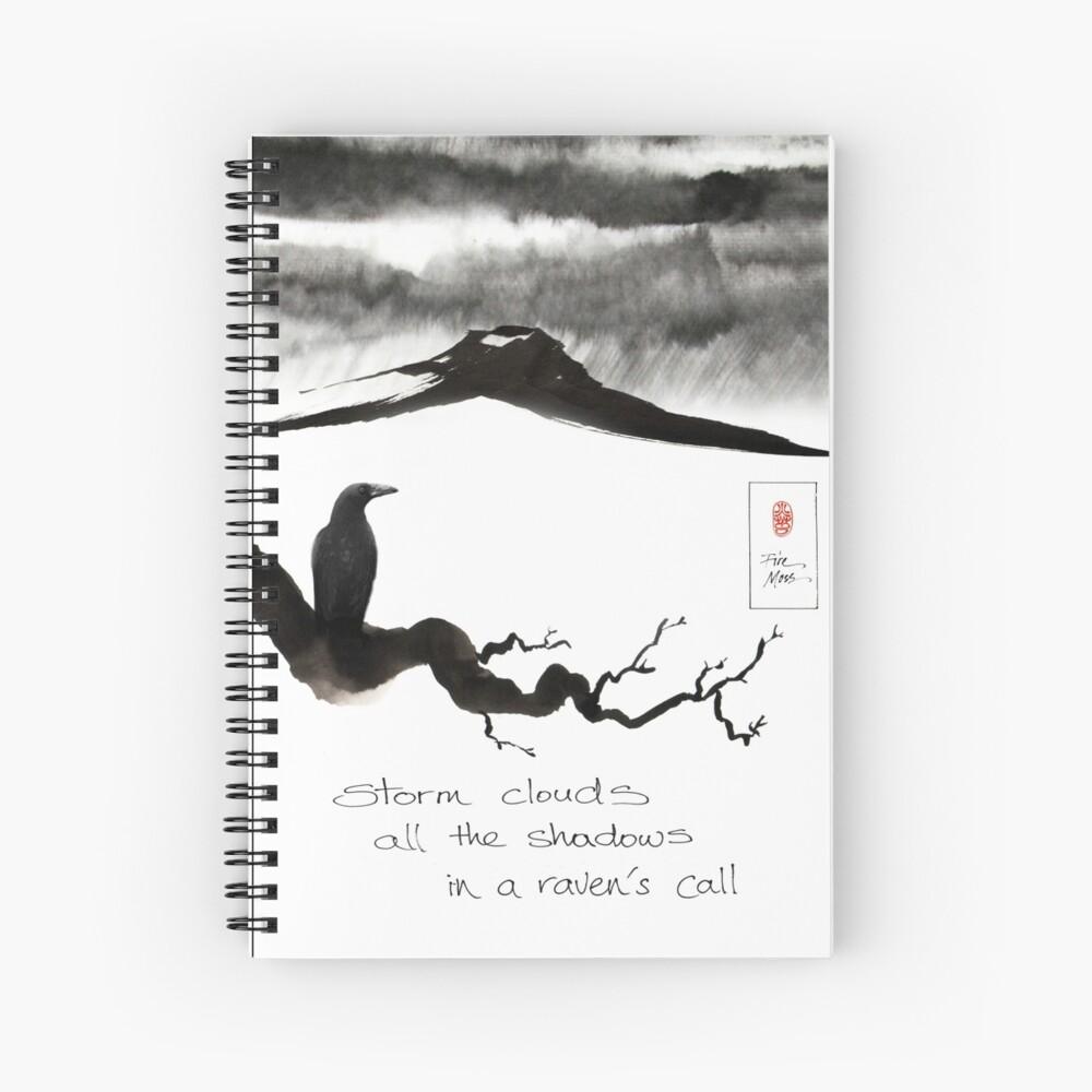 Storm Clouds Spiral Notebook