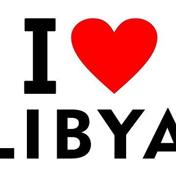 I love Libya by tony4urban