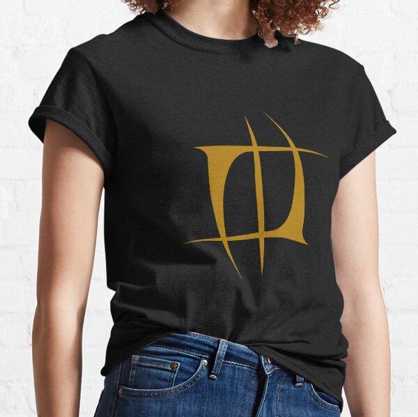Mourning Widows Nuno Tattoo Gold Colour Logo Emblem Classic T-Shirt