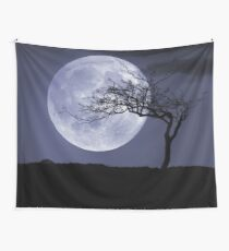 peaceful moon Wall Tapestry