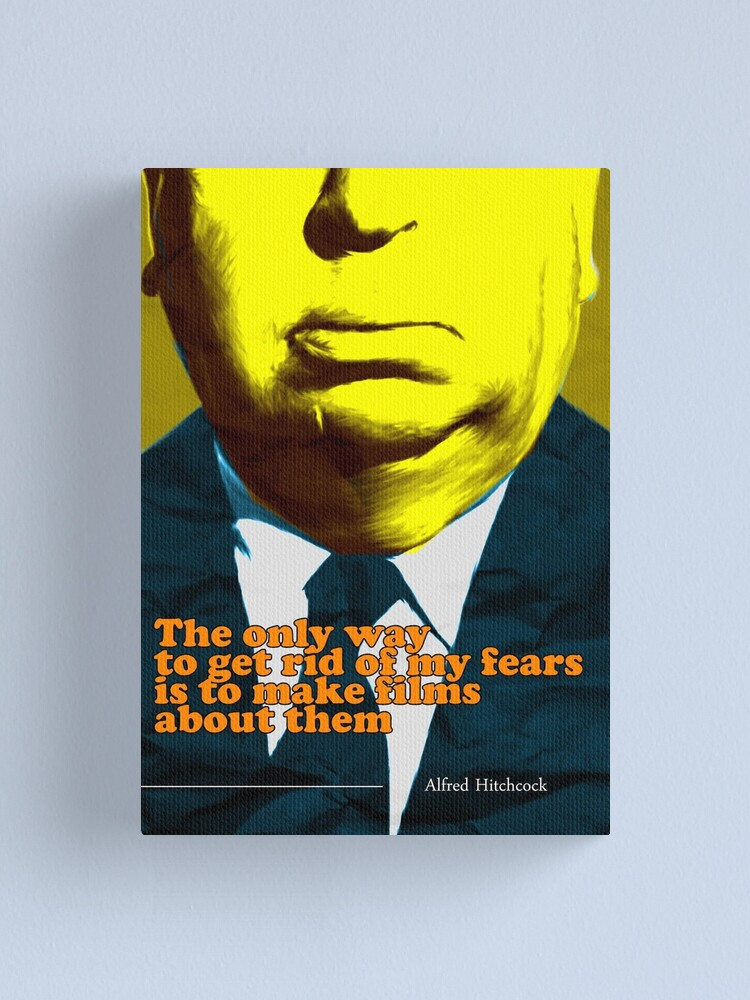 Alternate view of Alfred Hitchcock Quote 3 Canvas Print