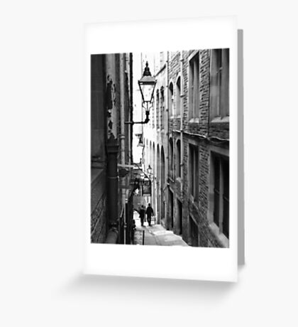 Fleshmarket Close (Edinburgh, UK) Greeting Card