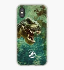 Vinilo o funda para iPhone Jurassic World 2.0