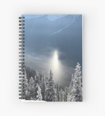 Shout it from the Mountain (Banff, Canada) Spiral Notebook