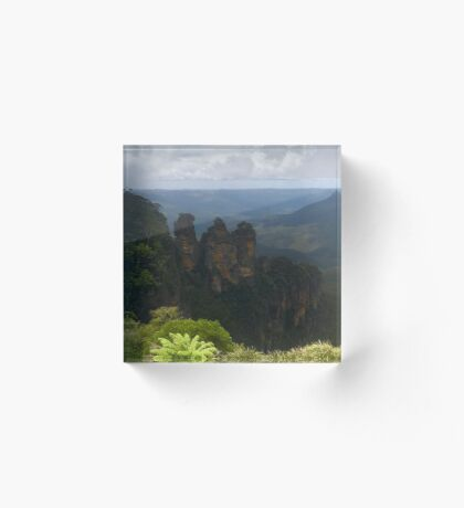 Sisters are doing it for themselves (Katoomba, NSW) Acrylic Block