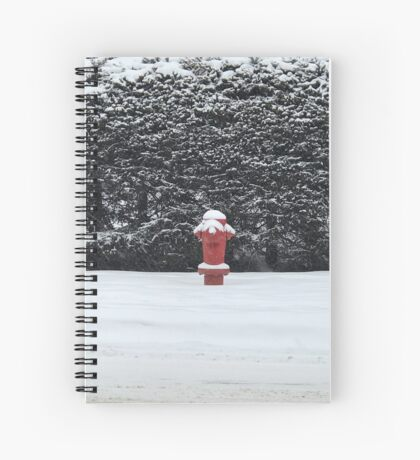 Fire and Ice (Banff, Canada) Spiral Notebook