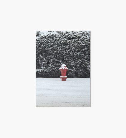 Fire and Ice (Banff, Canada) Art Board Print