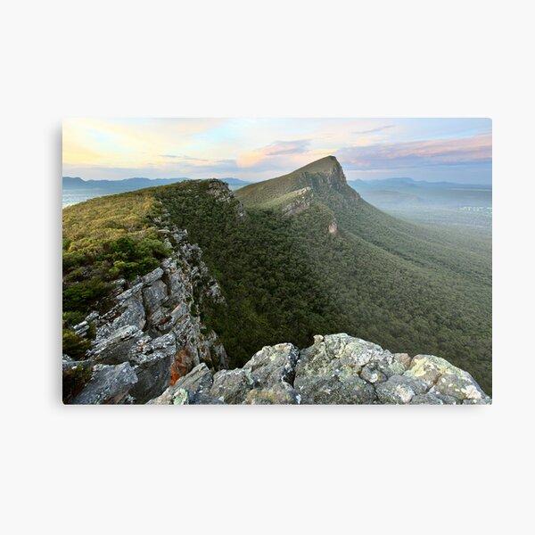 Sentinel Peak guards the Twilight, Grampians, Australia Metal Print