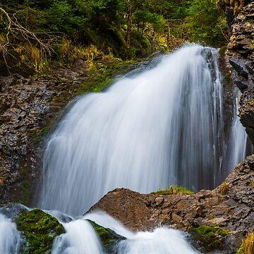 Cascada Valul Miresei, Romania by PeterCseke
