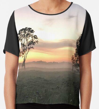 Crack of Dawn (Narooma, NSW) Chiffon Top