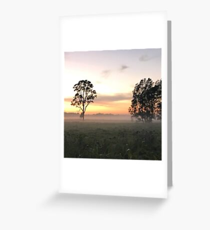Crack of Dawn (Narooma, NSW) Greeting Card