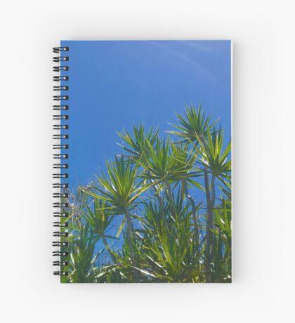Blue skies above (Peregian Beach, Qld) Spiral Notebook