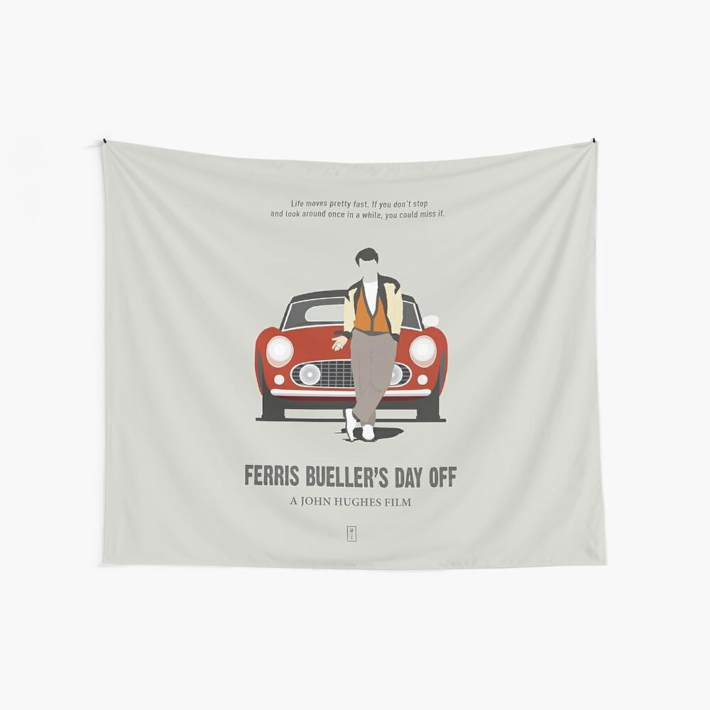 Ferris macht blau Wandbehang