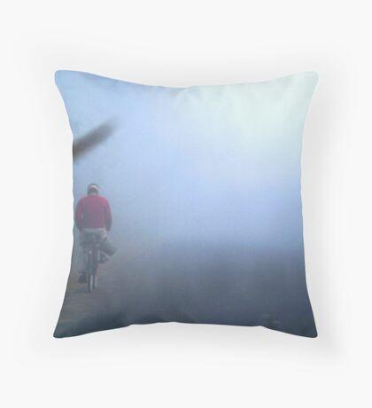Miles to go before I sleep...!! Throw Pillow