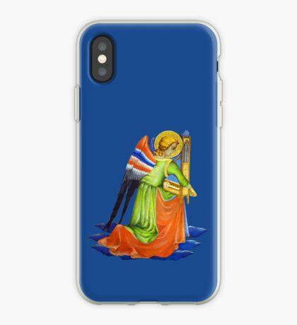 Gothic Angel #2 - Isolated iPhone Case