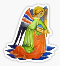 Gothic Angel #2 - Isolated Sticker