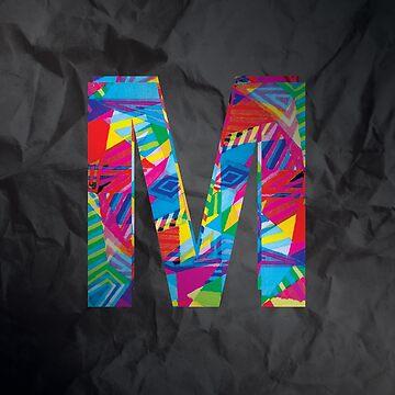 Fun Letter - M by Winterrr