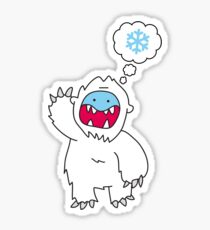 Snow Monster Sticker