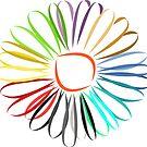 zauberhafte bunte Blume in vielen verschiedenen Farben von rhnaturestyles