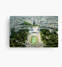 Tilted Reality Canvas Print