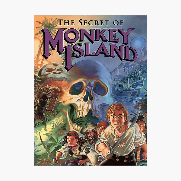 The Secret of Monkey Island Photographic Print