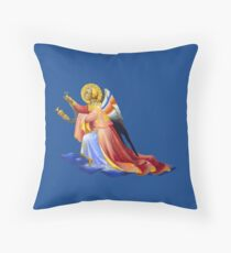 Gothic Angel #3 - Isolated Throw Pillow