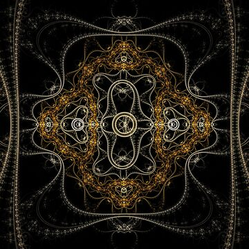 Fractal Art - Fade Away by Desmo