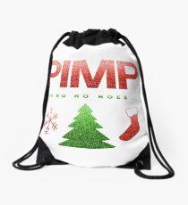 PIMP Ho Ho Ho Hoes... Drawstring Bag