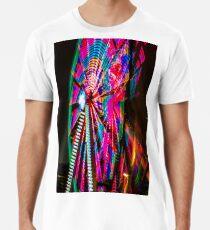 Colorful Ferris Wheel At Night Premium T-Shirt