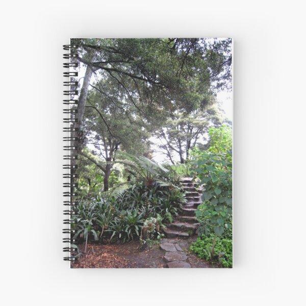 Up the Garden Steps Spiral Notebook