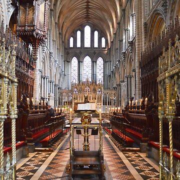 Service Area, Ely Cathedral, Cambridgeshire, UK by IgorPozdnyakov