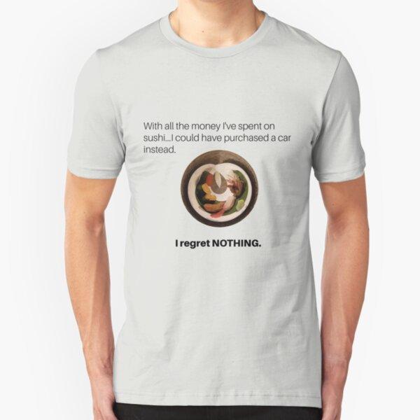 Sushi addict Slim Fit T-Shirt