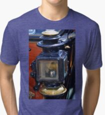 Vintage Car Lamp......... Tri-blend T-Shirt