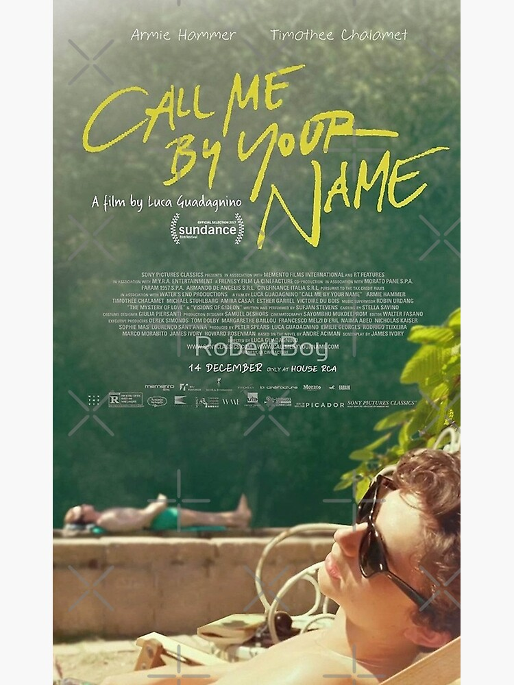 Call Me By Your Name Movie Poster  by kuode81