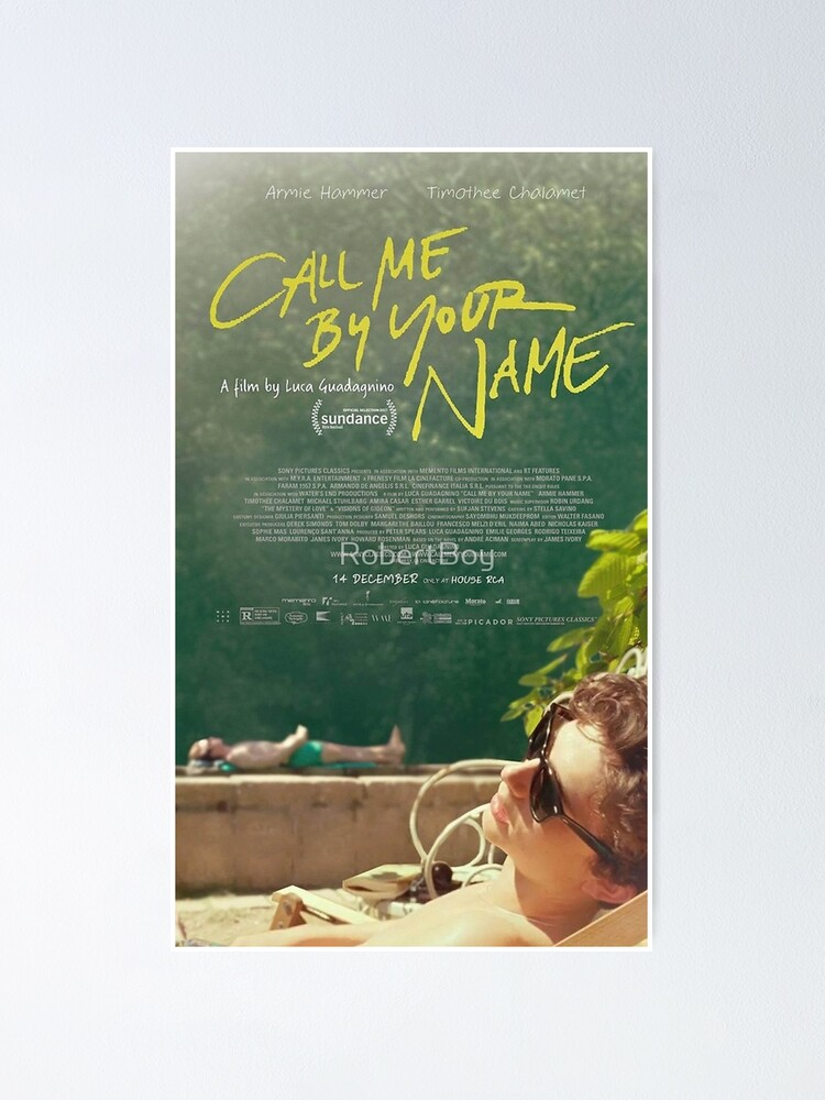 Alternate view of Call Me By Your Name Movie Poster  Poster
