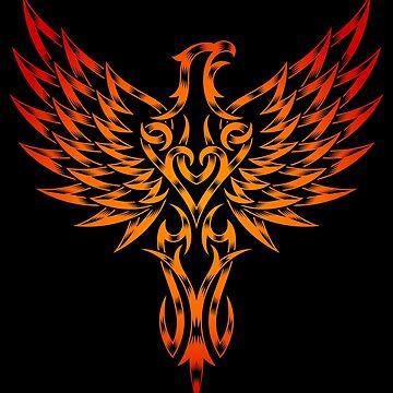 Phoenix in color by Skullz23