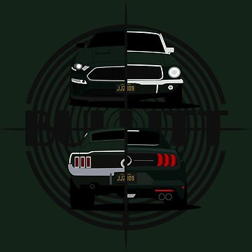 Bullitt Generations by AutomotiveArt