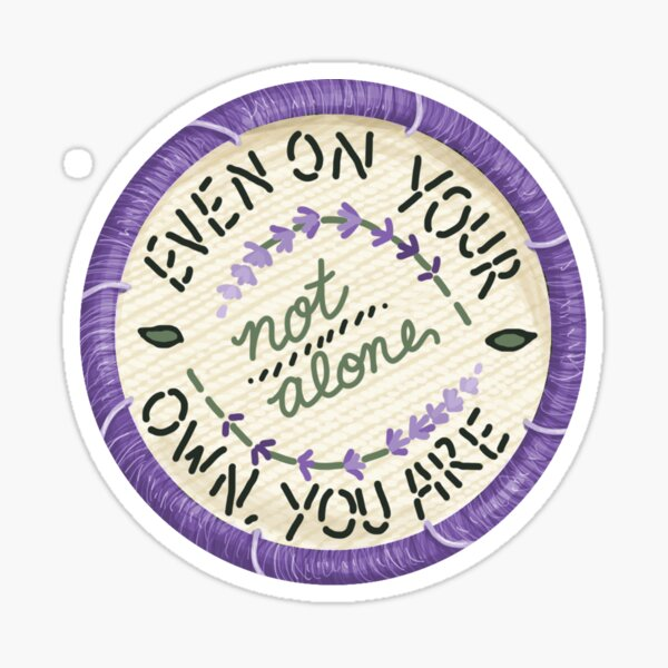 Walk the Moon Portugal Embroidery Style Design Sticker