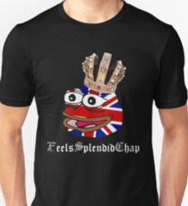 MonkaS Rare British Pepe Frog Feels Splendid Chap Unisex T-Shirt