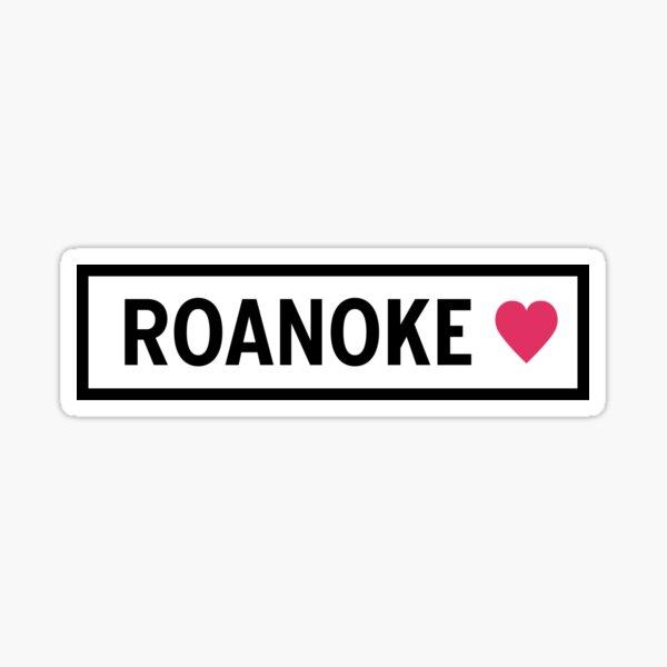 Roanoke Sticker
