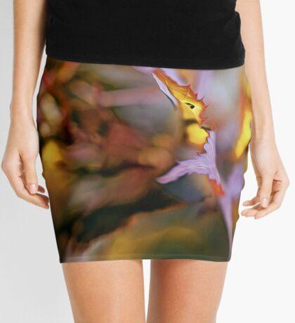 On the Leaf's Edge Mini Skirt